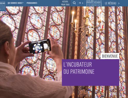 Blumenlab lauréat de la troisième promotion de l'Incubateur du Patrimoine avec la solution IMRSIVO