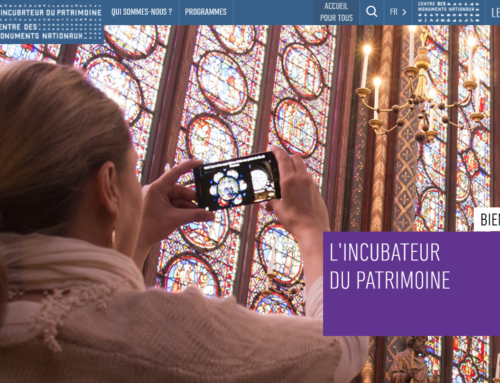 """IMRSIVO selected for """"L'Incubateur du Patrimoine"""" !"""